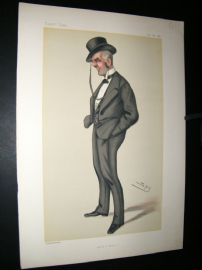 Vanity Fair Print 1880 Henry Calcraft, Railways